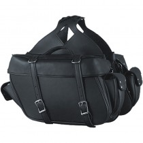 HMB-4194B FREE SHIPPING LEATHER MOTORCYCLE SADDLE BAG