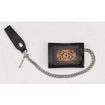 HMB-725I TRIFOLD WALLET CHAIN PURSE WALLETS