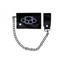 HMB-725L TRIFOLD WALLET CHAIN PURSE WALLETS
