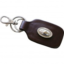 HMB-740B LEATHER KEYCHAINS
