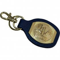 HMB-747A LEATHER KEYCHAINS
