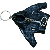 HMB-748B LEATHER KEYCHAINS