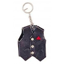 HMB-748D LEATHER KEYCHAINS