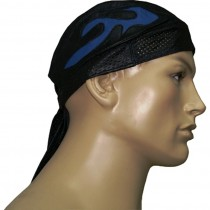 HMB-901C-2 LEATHER SKULLCAP BANDANA CAPS DURAG HATS BIKER HEAD GEAR