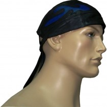 HMB-901C LEATHER SKULLCAP BANDANA CAPS DURAG HATS BIKER HEAD GEAR