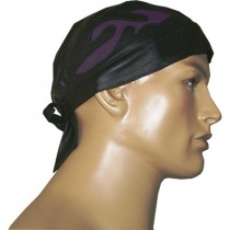 HMB-901D LEATHER SKULLCAP BANDANA CAPS DURAG HATS BIKER HEAD GEAR