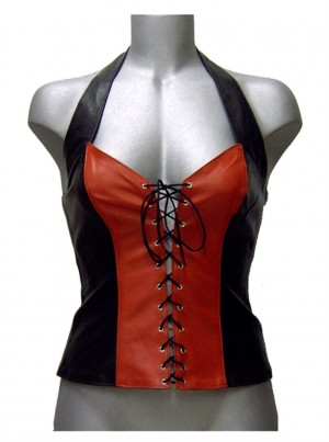 CW-276 LEATHER HALTER
