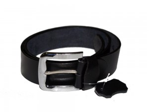HMB-3932H LEATHER PANTS BELT BRAID STYLE WITH  BUCKLE FIX