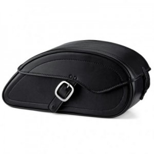 HMB-4121A FREE SHIPPING LEATHER MOTORCYCLE SADDLE BAG