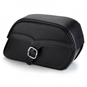 HMB-4123A FREE SHIPPING LEATHER MOTORCYCLE SADDLE BAG