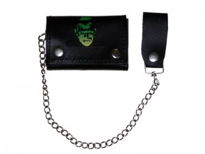 HMB-725M TRIFOLD WALLET CHAIN PURSE WALLETS