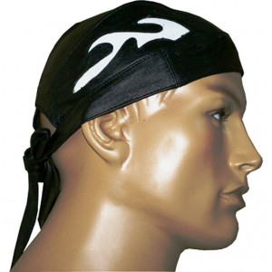 HMB-901B LEATHER SKULLCAP BANDANA CAPS DURAG HATS BIKER HEAD GEAR