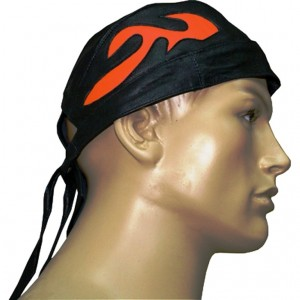 HMB-901E LEATHER SKULLCAP BANDANA CAPS DURAG HATS BIKER HEAD GEAR
